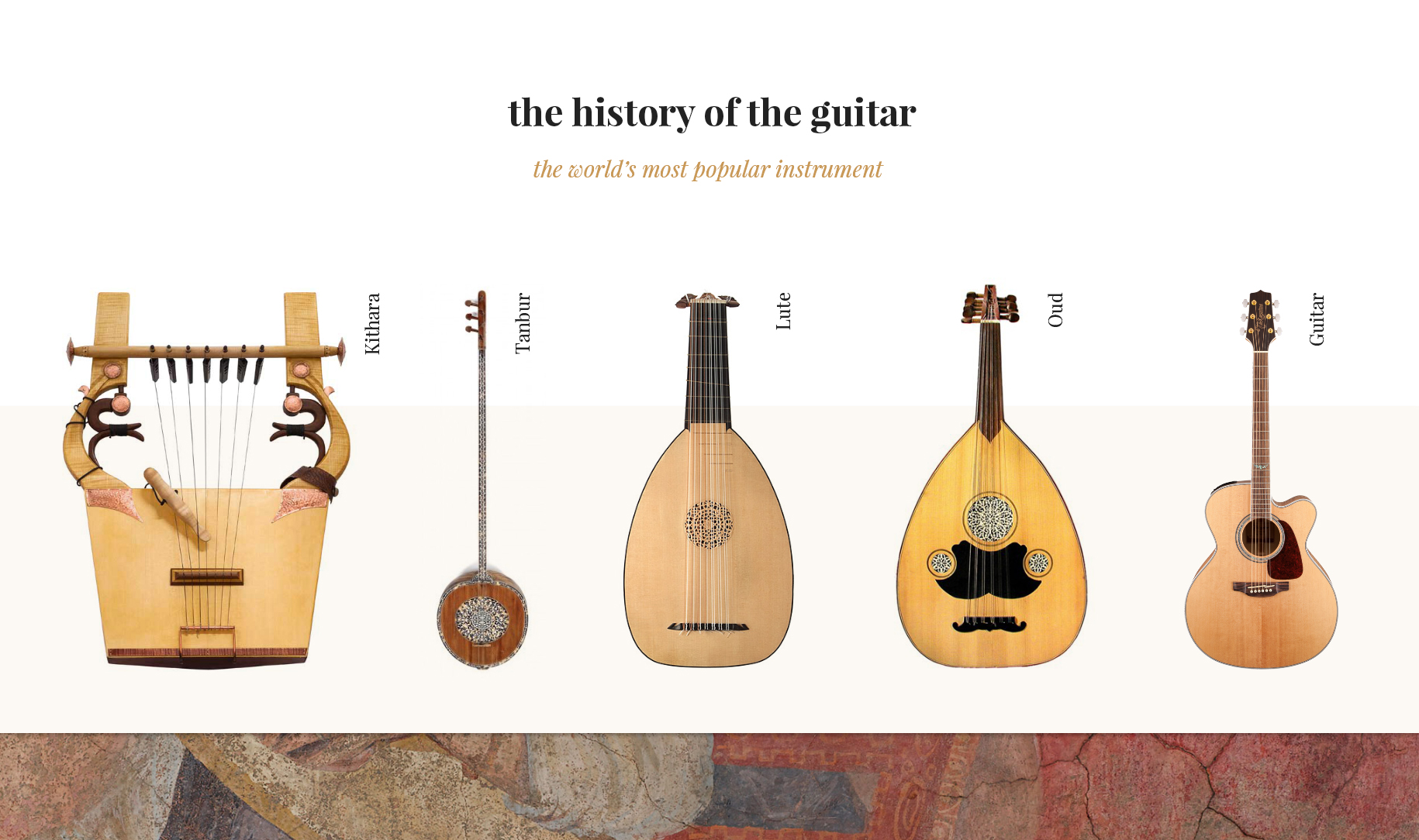 The History of the Guitar, the World's Most Popular Instrument
