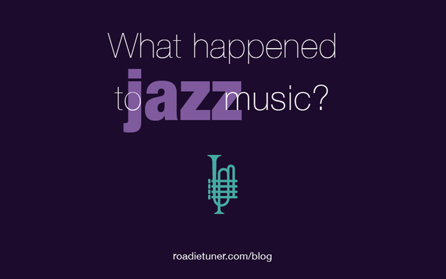 What Happened to Jazz Music?