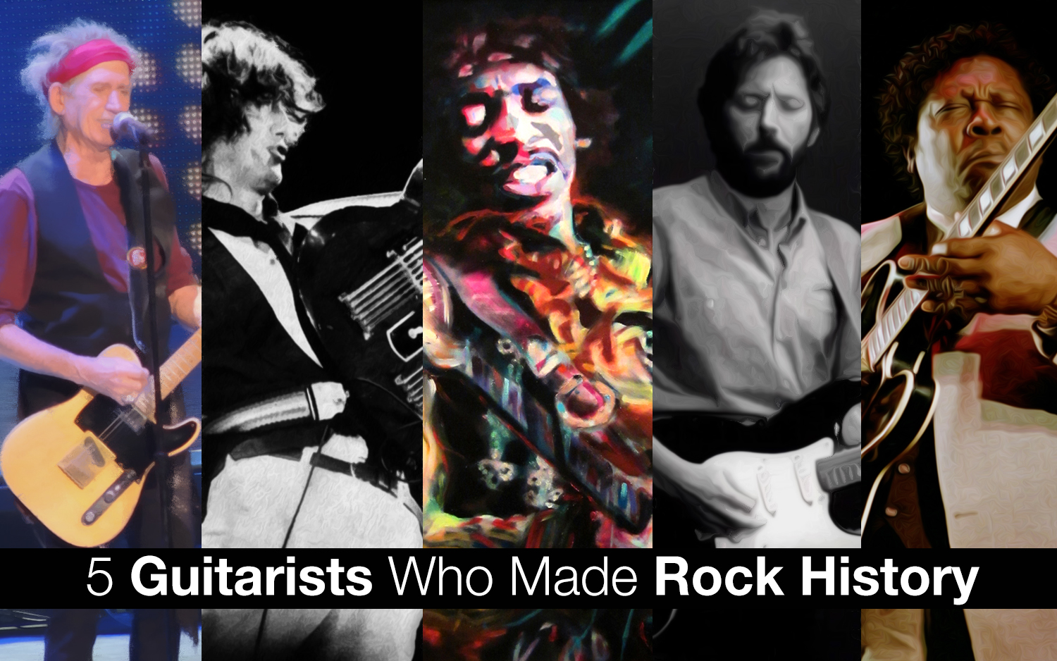 5 Guitarists Who Made Rock History