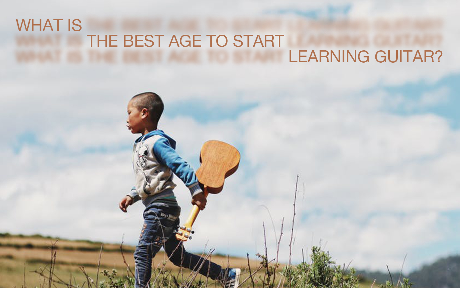 What is the Best Age to Start Learning Guitar?