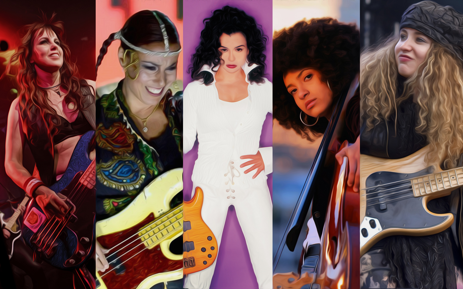 Top 5 Female Bassists