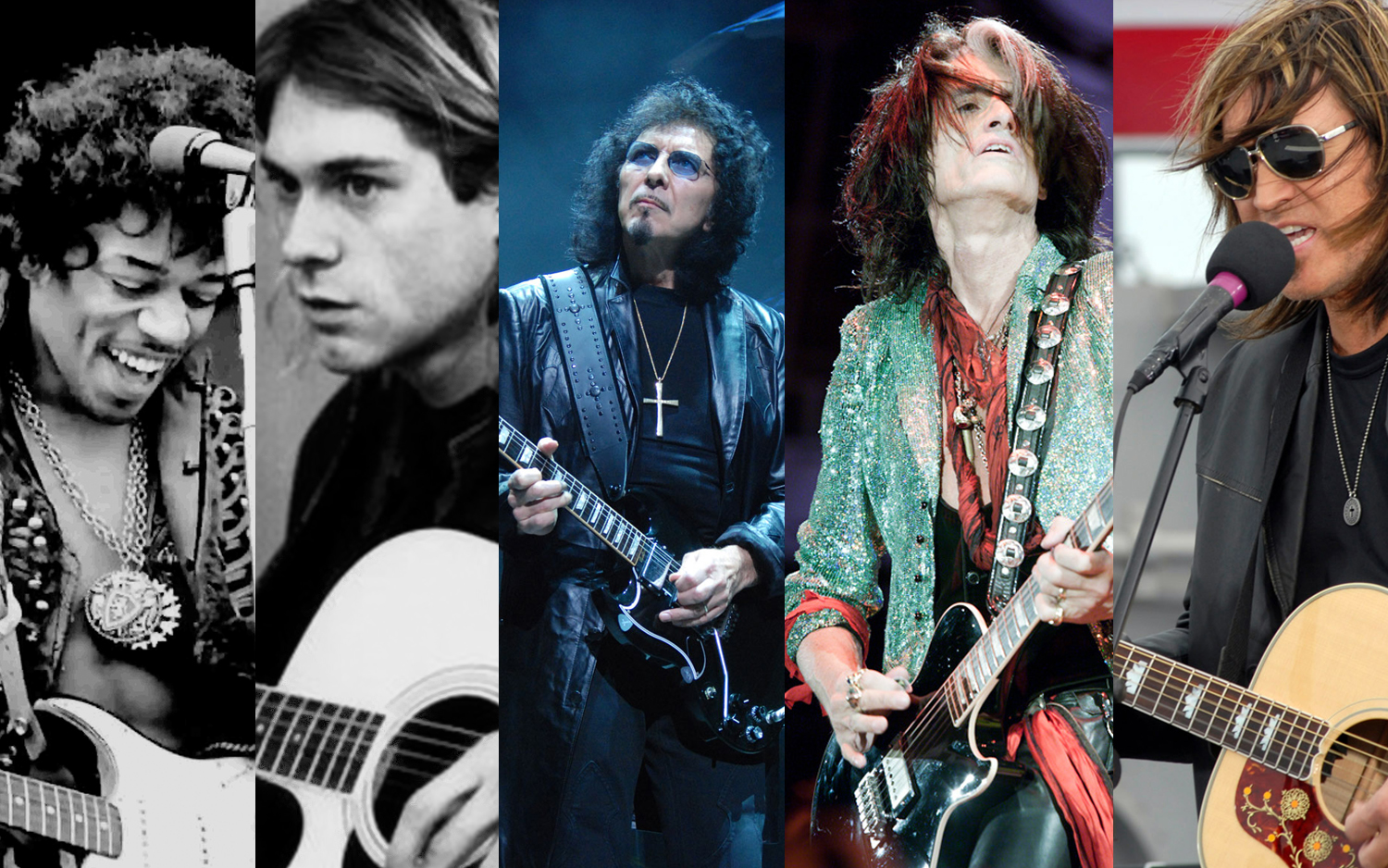 Five Famous Left-Handed Guitarists