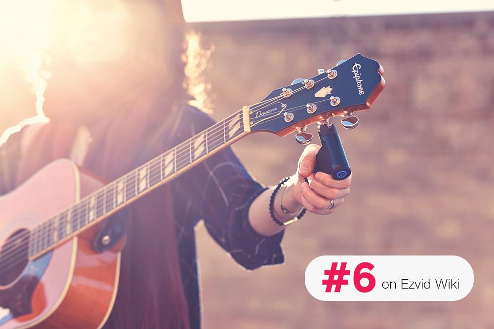 Roadie 2 Listed as One of Ezvid's Best Guitar Tuners of 2018