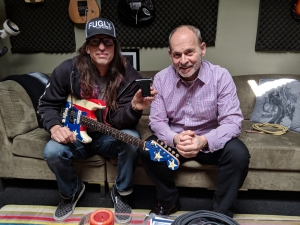 Wayne Kramer with Roadie 2