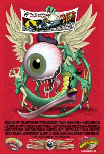 Jim Phillips pixies poster