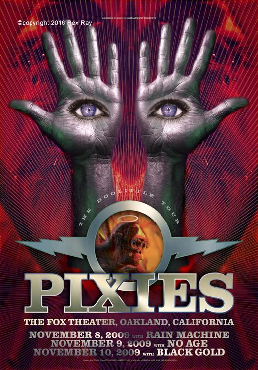 Rex Ray Pixies poster