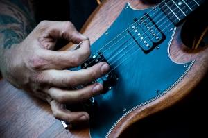 Guitar pick material