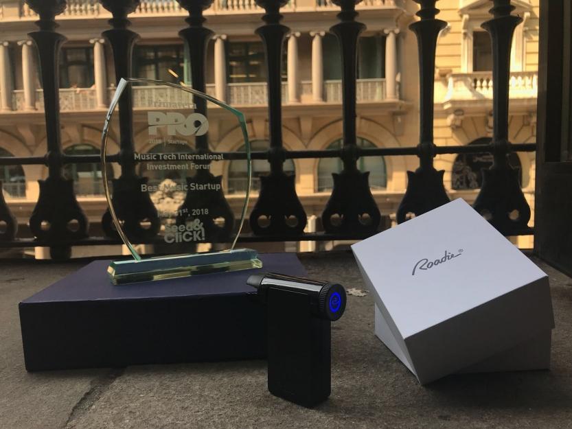 "Roadie Wins ""Best Music Startup 2018"" at Primavera Pro"