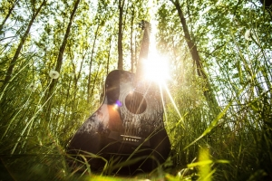 Flat-six chord and guitar