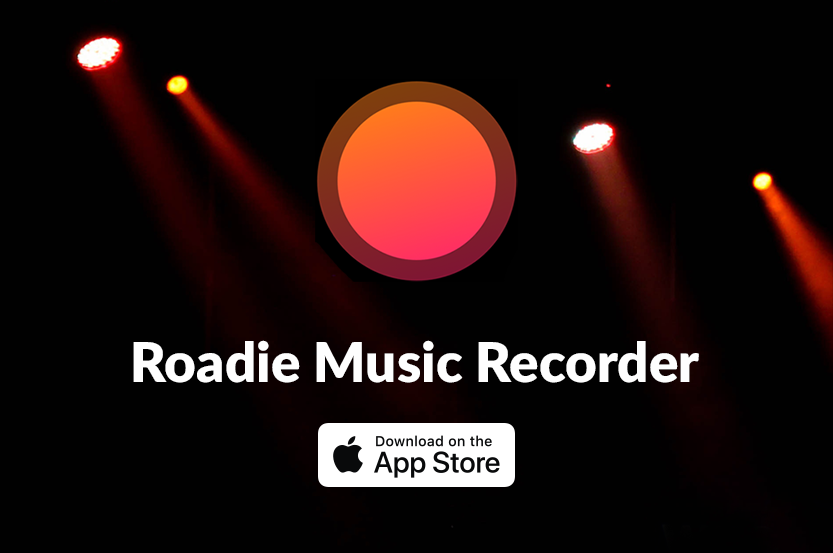 Check Out Our New (iOS) App, Roadie Music Recorder