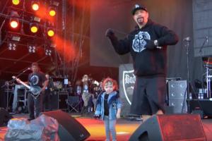 Touring as a rock star parent