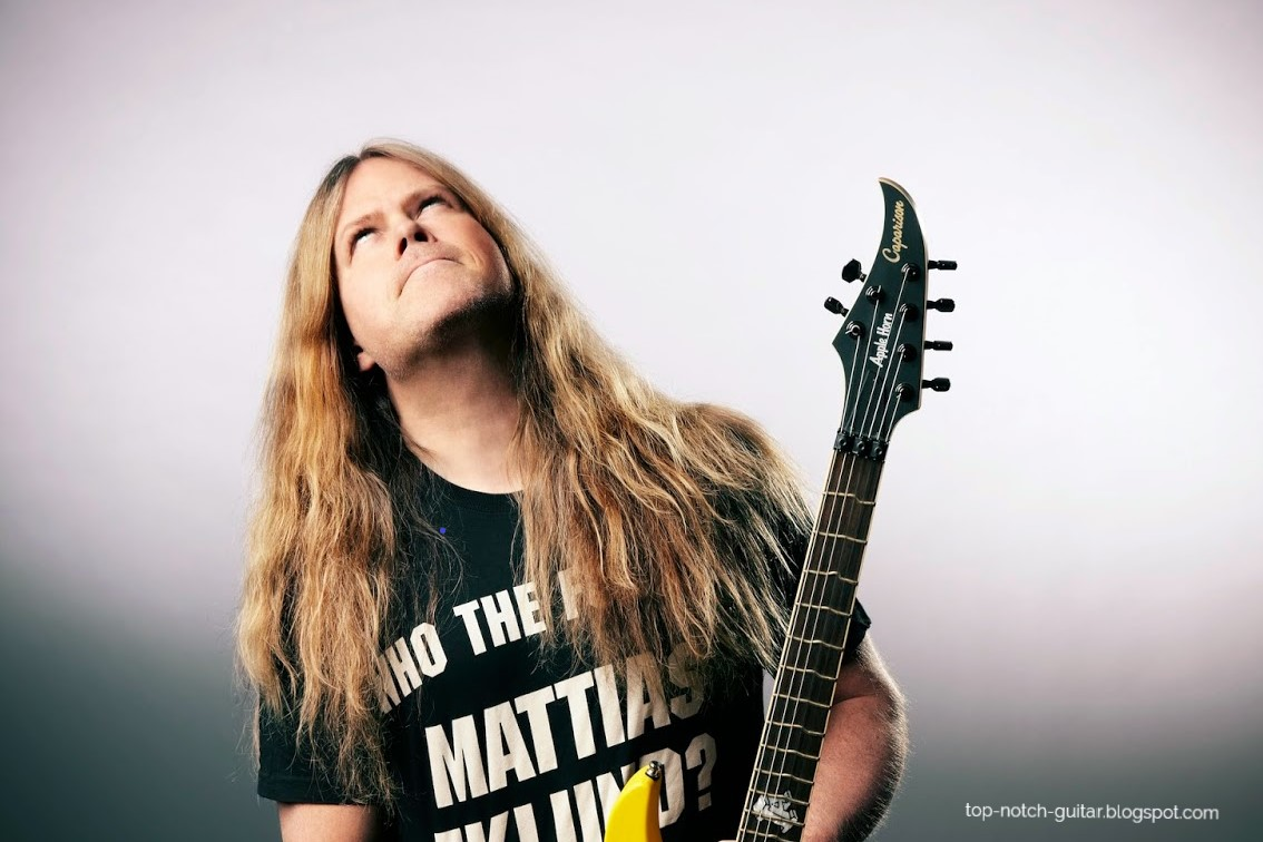 Mattias Eklundh's True Temperament Guitar