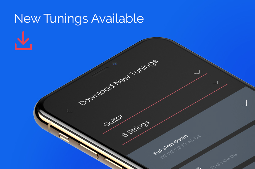 Roadie Tuner App Update: New Tunings Available to Download Right Now!