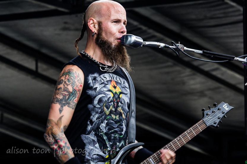 Artist Spotlight: CJ Pierce from Drowning Pool Uses Roadie 2