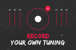 Record your own tuning